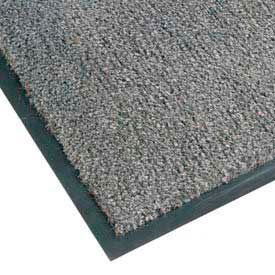 Sabre Olefin Entrance Carpet Mat - 4' x 6' - Gun Metal