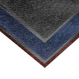 Chevron Heavier Weight Carpet Mat - 4' x 6' Dark Brown