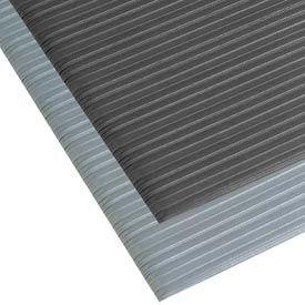 Comfort Rest Ribbed Foam Mat - 4' x 6' - Coal