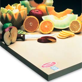 "Sani-Tuff® All-Rubber Cutting Board - 15"" x 20"" x 1/2"""