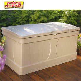 Suncast DB9000 Premium Deck Box 99 Gallon