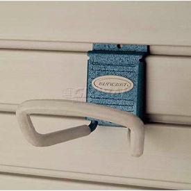 "Suncast® Trends® Garage Storage 4"" Metal Loop Hook, Blue - Pkg Qty 6"