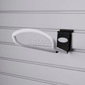"Suncast® Trends® Garage Storage 8"" Metal Loop Hook, Black - Pkg Qty 6"