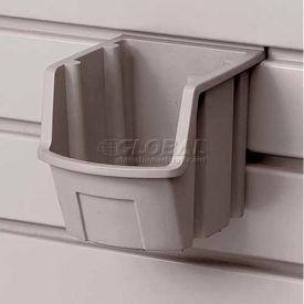 "Suncast® Trends® Garage Storage Resin Bin, 5"" W X 5-3/8"" D X 4-1/2"" H , Gray - Pkg Qty 12"