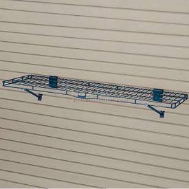 """Suncast® Trends® Garage Storage Wire Shelf, 48"""" W X 14"""" D X 8-3/16"""" H, Blue - Pkg Qty 6"""
