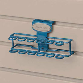 Suncast® Trends® Garage Storage Screwdriver Rack, Blue - Pkg Qty 6