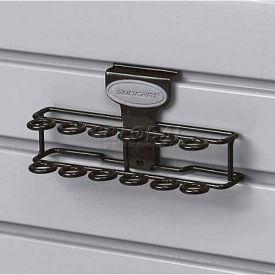 Suncast® Trends® Garage Storage Screwdriver Rack, Black - Pkg Qty 6