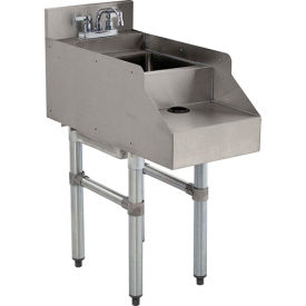 """Add-On Unit, 12"""", Blender/Recess/Sink w/ Gooseneck Faucet, 21"""" Front To Back by"""