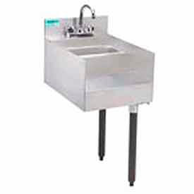 """Add-On Unit, 15"""", Blender/Recess/Sink w/ Gooseneck Faucet, 21"""" Front To Back by"""
