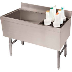 Combo Ice Chest, Coldplate, 21X47, Bottle Storage Rack Right, 119/35 lbs Ice Cap