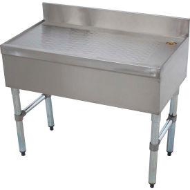 Challenger Drainboard, Bar Type, Modular, 21X36 Open Cabinet Base