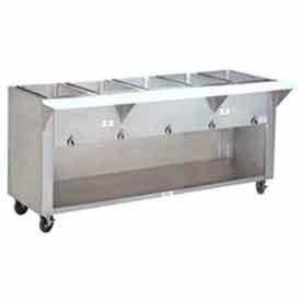"Hot Food Table, Lp Gas, 62.375""L (4) 12"" x 20"" Wells, S/S Cabinet Base by"