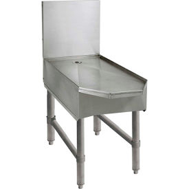 """Advance Tabco SCFD-30, Frozen Drink Machine Stand, 30""""Wx28-3/20""""Dx33""""H, Stainless Steel"""
