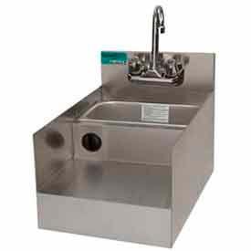 "Add-On Unit, 18X15"", Blender/Recess/Sink w/ Gooseneck Faucet, S/S by"