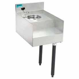 Add-On Unit, 18X12, Blender/Recess w/Liquid Waste Chute by