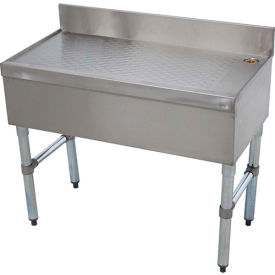 Bar Type Drainboard, Free Standing, 12X18, Island Type