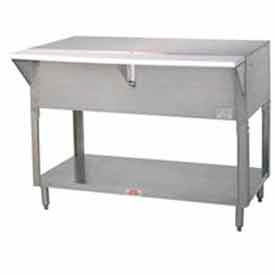"""Solid Top Table, 47.125""""L S/S Cabinet Base"""