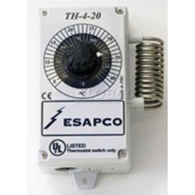 SunStar Corrosive Environment Voltage Thermostat - For Infrared Tube Heaters 30525000