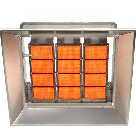 SunStar Natural Gas Heater Infrared Ceramic SG12-N, 120000 BTU
