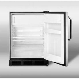 Summit ALB653BCSS - ADA Comp Built-In Refrigerator-Freezer, Complete S/S