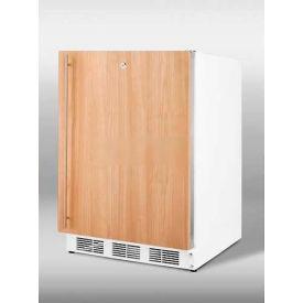Summit ALB751LIF ADA Comp Built in Undercounter Refrigerator 5.5 Cu. Ft. White