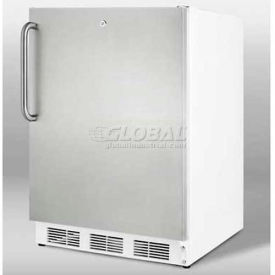 Summit ALF620LSSTB - ADA Comp Freestanding Medical All-Freezer 25°C Operation, Lock,