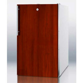 """Summit FF511LBI7IFADA - 20""""W Counter Height All-Refrigerator, Lock, Int. Door Frame, Two Shelves"""