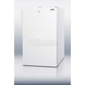 Summit FF511LBIADA ADA Comp Built in Undercounter Refrigerator 4.1 Cu. Ft. White