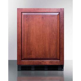 Summit FF63BBIIF Built In Undercounter All Refrigerator 5.5 Cu. Ft. Black