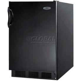 Summit FF6BBI7ADA - ADA Comp Undercounter Refrigerator, Auto Defrost, Black