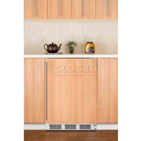 Summit FF6BIIFADA ADA Comp Built in Undercounter Refrigerator 5.5 Cu. Ft. White