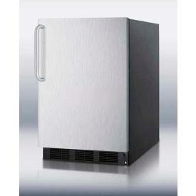 Summit FF6BSSTB Freestanding Refrigerator 5.5 Cu. Ft. Black