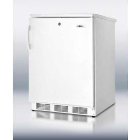 Summit FF6L Freestanding Counter Height All Refrigerator 5.5 Cu. Ft. White