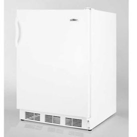 """Summit FF7ADA - Freestanding All-Refrigerator, Automatic Defrost, 32""""H For ADA Counters"""