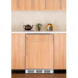 Summit FF7BIFR Built In Undercounter Refrigerator  5.5 Cu. Ft. White