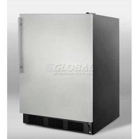 Summit FF7BSSHV Freestanding All Refrigerator 5.5 Cu. Ft. Black/Stainless Steel