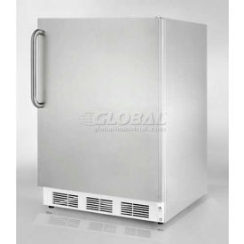"Summit FF7CSSADA - Built-In Undercounter All-Refrigerator, S/S Exterior, 32""H For ADA Counters"