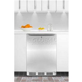"""Summit FF7LBISSHHADA - 32""""H ADA Comp Built-In Undercounter Refrigerator, Lock, S/S Door"""