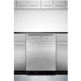 "Summit FF7LBLBISSHHADA - 32""H ADA Comp Built-In Undercounter Refrigerator, Lock"