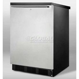 Summit FF7LBLSSHH Freestanding All Refrigerator 5.5 Cu. Ft. Black