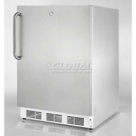 """Summit FF7LCSSADA - Built-In Undercounter All-Refrigerator, Front Lock, 32""""H For ADA Counters"""