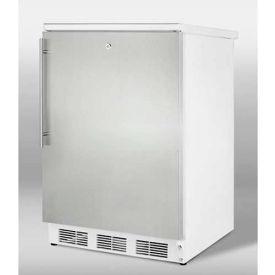 Summit FF7LSSHV Freestanding Refrigerator W/Lock 5.5 Cu. Ft. White