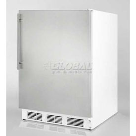 Summit FF7SSHVADA - ADA Comp Freestanding Freestanding All-Refrigerator, S/S Door, Thin Handle,