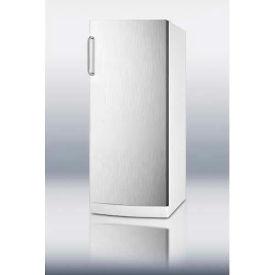 Summit FFAR10SSTBLOCKER - 10.1 Cu. Ft. All-Refrigerator, 9 Interior Locking Compartments, SS Door