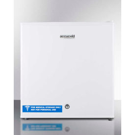 "Summit FS24L - Compact General Purpose All-Freezer, White, 18-1/2""W"