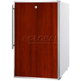 "Summit FS407LBI7FR - 20""W Built-In UC All-Freezer, Lock, SS Door Frame For Slide-In Custom Panels"