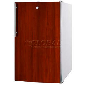 "Summit FS407LBI7IFADA - ADA Comp 20""W Built-In Undercounter All-Freezer, Lock, Int. Door Frame"