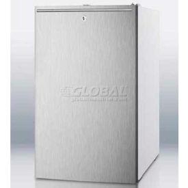 "Summit FS407LBISSHHADA - ADA Comp 20""W Built-In Undercounter All-Freezer -20°C Capable, S/S, WH"