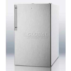 "Summit FS407LBISSHVADA - ADA Comp 20""W Built-In Undercounter All-Freezer, -20°C Capable, WH"