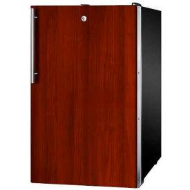 "Summit FS408BLBI7IFADA - ADA Comp 20""W Built-In Undercounter All-Freezer, Lock, Int. Door Frame"